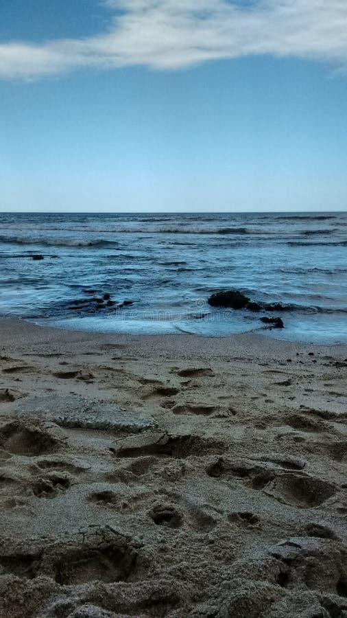 Фотоснимок пляжа Miramar ареальных стоковые фото