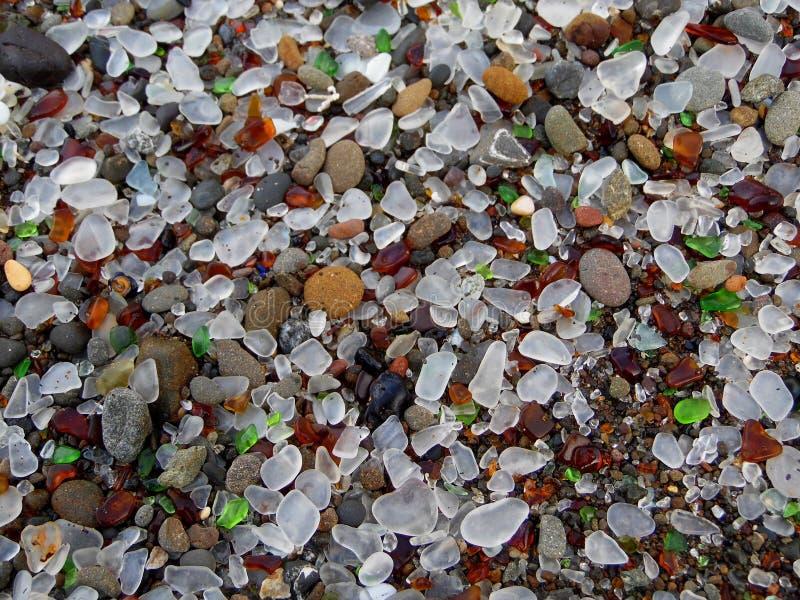 Фотоснимок предпосылки стекла моря стоковые изображения rf