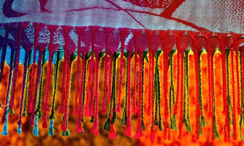 Фотоснимок предпосылки шали Pashmina стоковое изображение