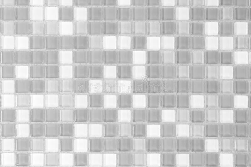 Фото белого и серого разрешения стены плитки высокого реальные или море кирпича стоковое фото