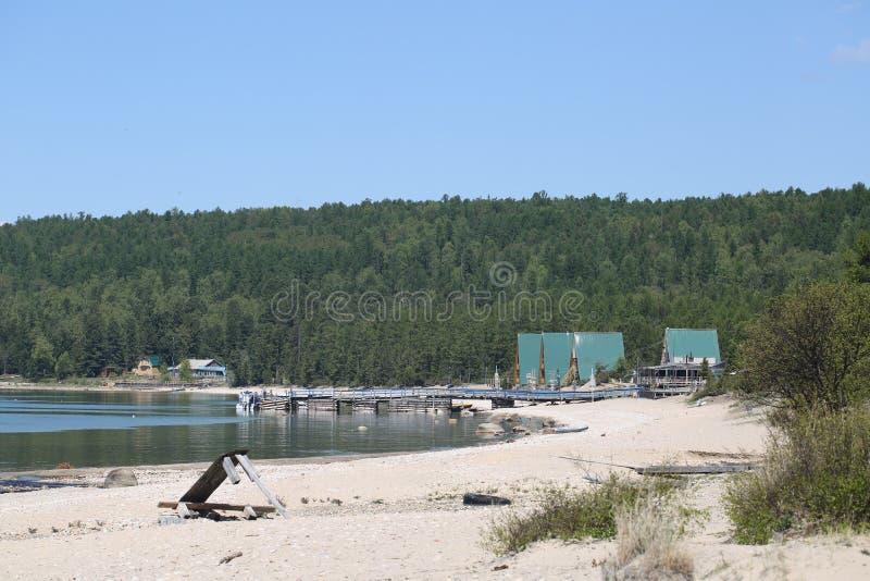Фото большего Lake Baikal, России стоковое изображение rf
