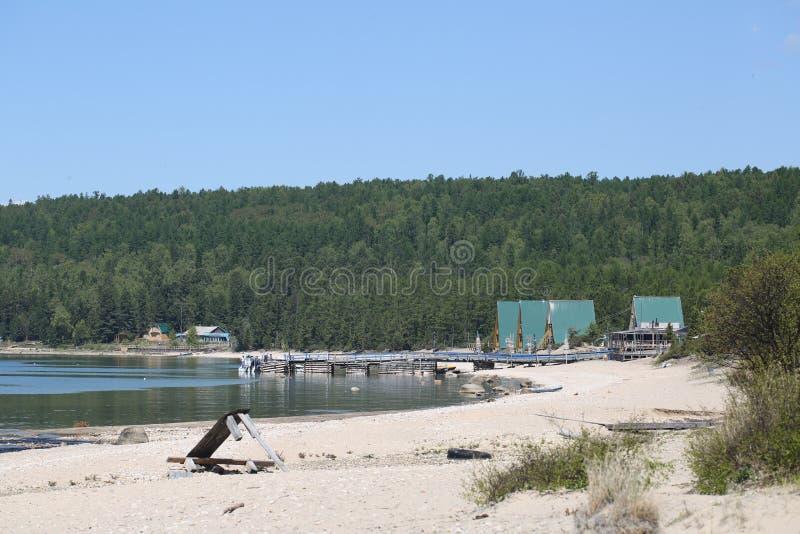 Фото большего Lake Baikal, России для вас стоковые изображения