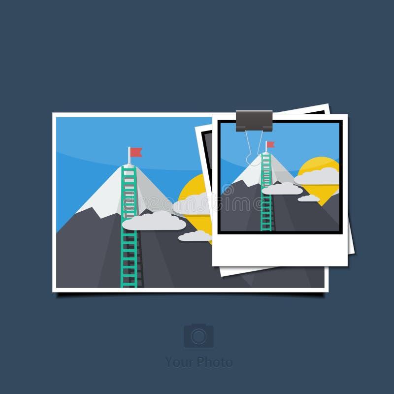 Download Фото вектора современное установленное на голубую предпосылку Иллюстрация вектора - иллюстрации насчитывающей перемещение, икона: 40587500