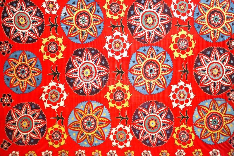 Фото восточного естественного орнамента для тканей стоковая фотография