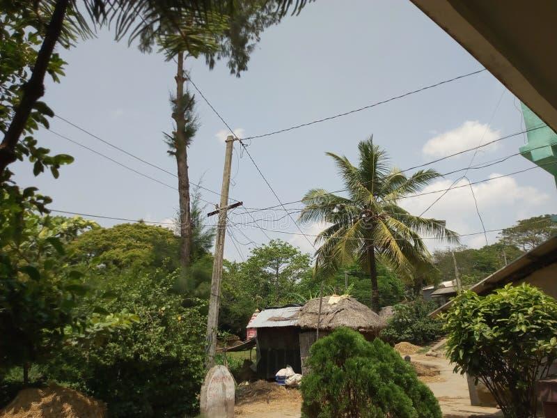 Фото деревни стоковая фотография