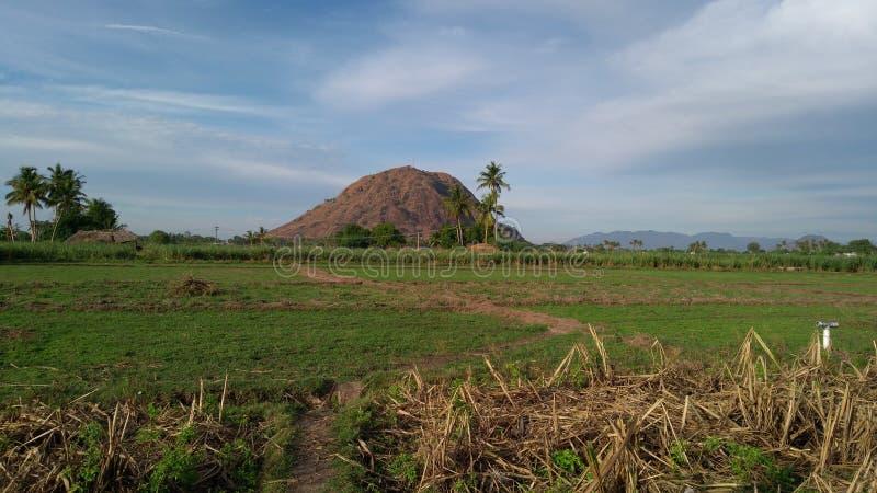 Фото деревни стоковое изображение rf