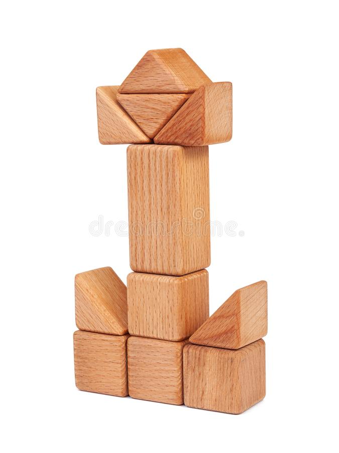 Фото деревянной игрушки стоковые изображения
