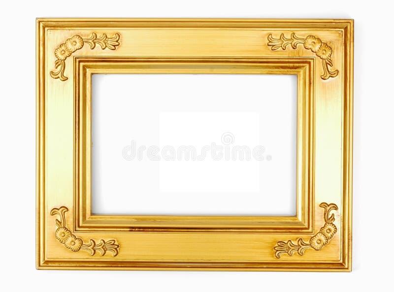 фото золота рамки стоковая фотография rf