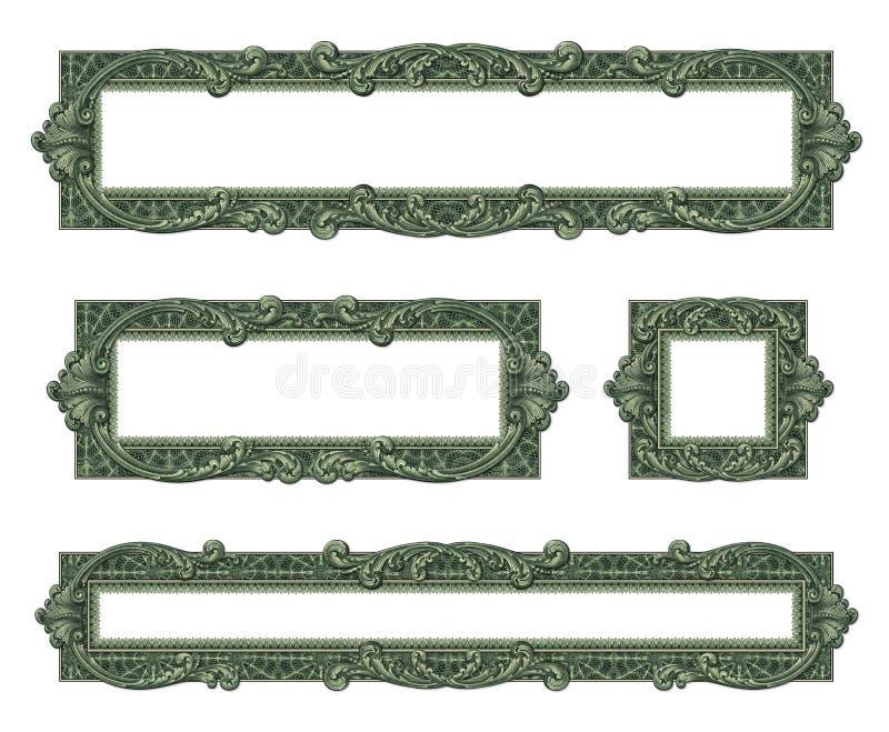 Границы денег стоковые фото