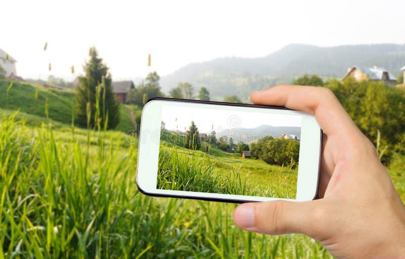 Фото красивая гора стоковое фото rf
