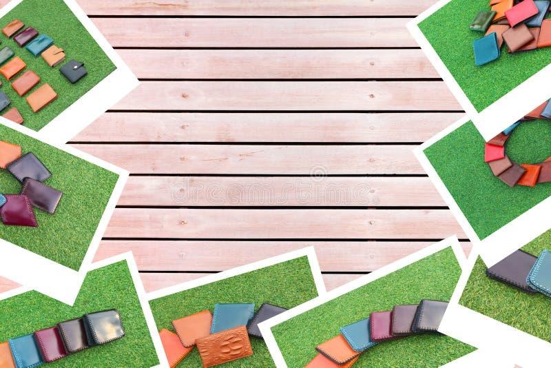 Фото на деревянной предпосылке стоковые изображения rf