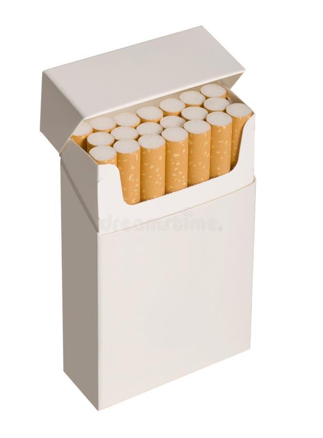 фото пакета сигареты стоковые фотографии rf