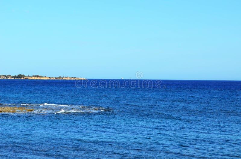 Фото принятое на греческий остров Родоса стоковая фотография rf