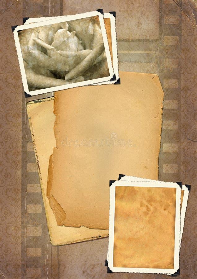 фото рамок ретро иллюстрация штока