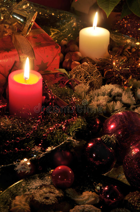 фото характеристики рождества стоковая фотография