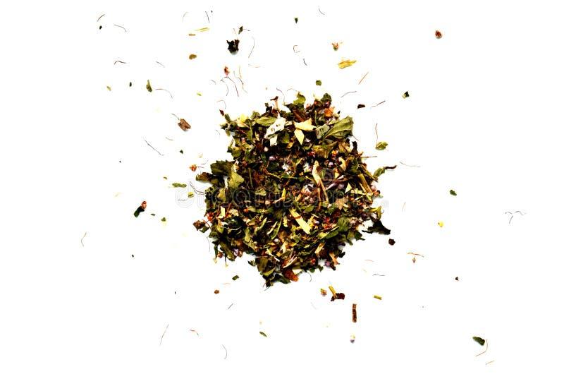 Фото чая женьшени изолированное на белой предпосылке стоковые фотографии rf