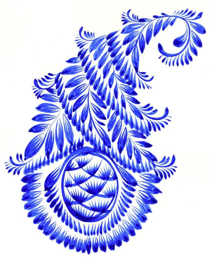 Фольклорный орнамент иллюстрация штока