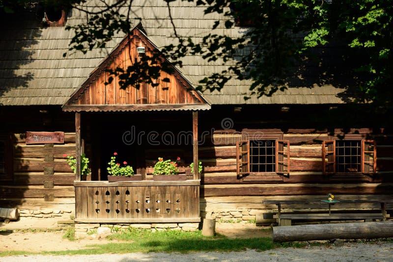 Фольклорный паб, Мартин, Словакия стоковая фотография
