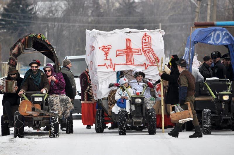 Фольклорный фестиваль Malanka_3 стоковые изображения