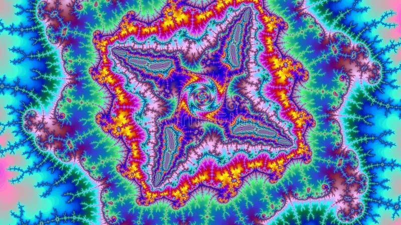 Фрактали предпосылки вселенной цифров размер разрешения изумительной абстрактной красочной высокий очень большой стоковые фото