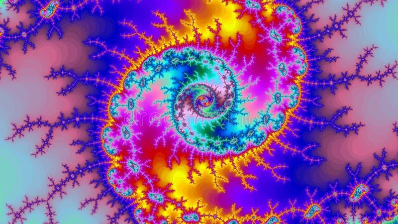 Фрактали предпосылки вселенной цифров размер разрешения изумительной абстрактной красочной высокий очень большой стоковые изображения