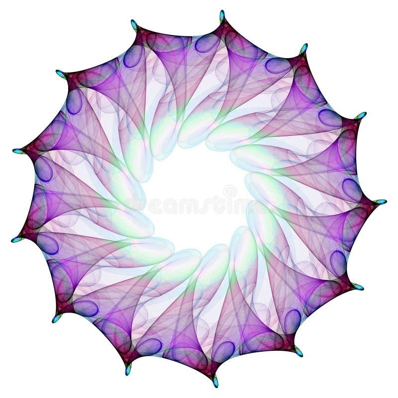 фракталь цветка бесплатная иллюстрация