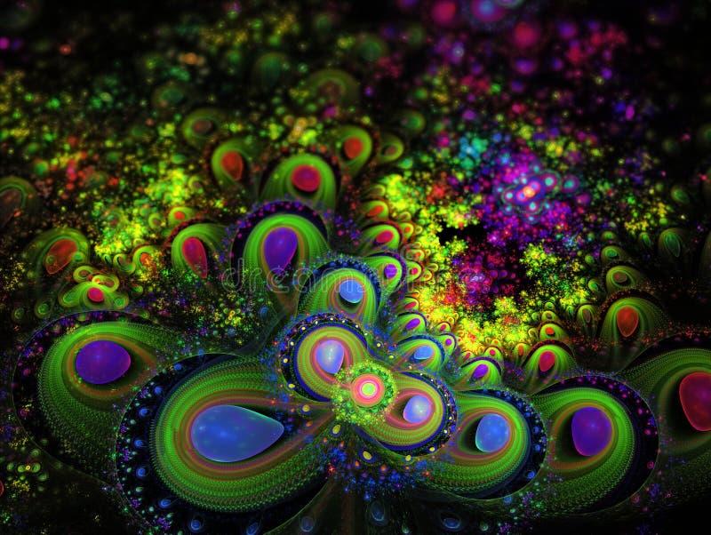 Фрактал-искусство стоковое изображение rf