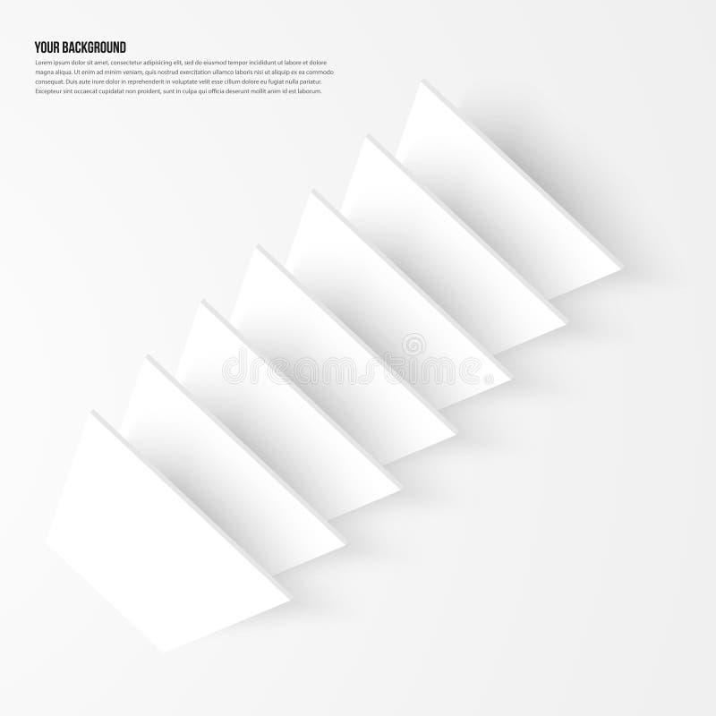 Фракталь конспекта предпосылки вектора Дизайн тени бесплатная иллюстрация