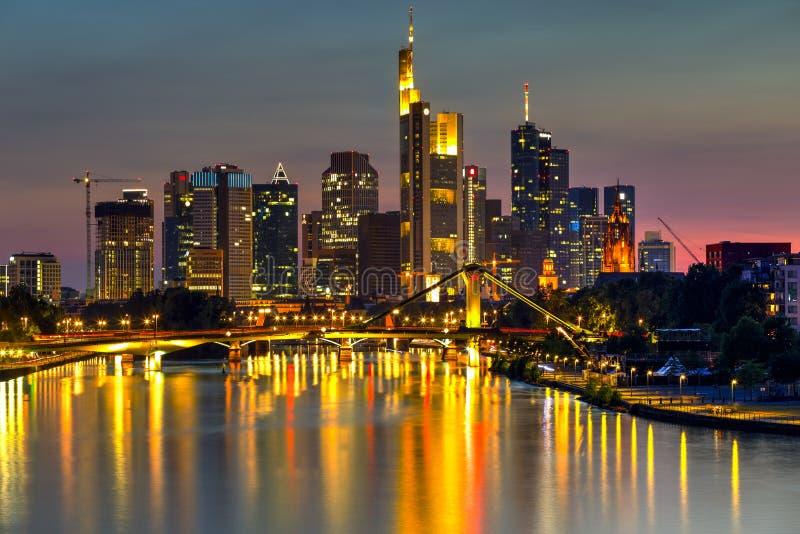 Франкфурт и главным образом, Германия стоковое фото