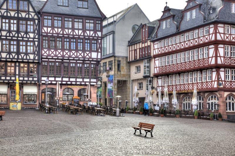Франкфурт-на-Майне разбивочное историческое стоковые изображения rf