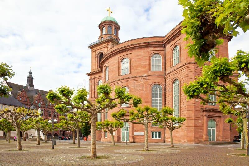 Франкфурт-на-Майне разбивочное историческое стоковая фотография rf