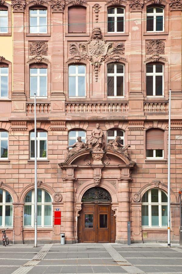 Франкфурт-на-Майне разбивочное историческое стоковое изображение rf