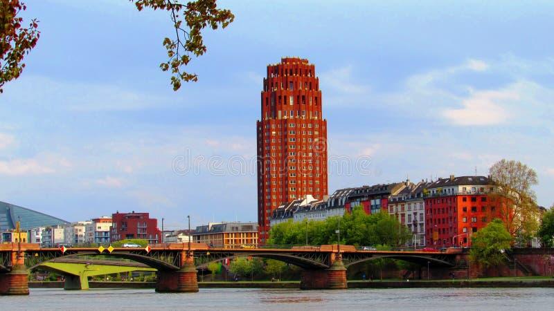 Франкфурт-на-Майне стоковое фото rf