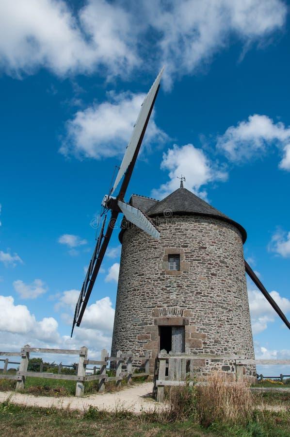Франция, ветрянка стоковая фотография rf