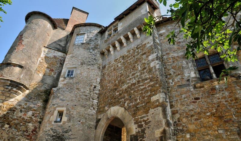 Франция, живописная деревня Carennac в серии стоковые изображения