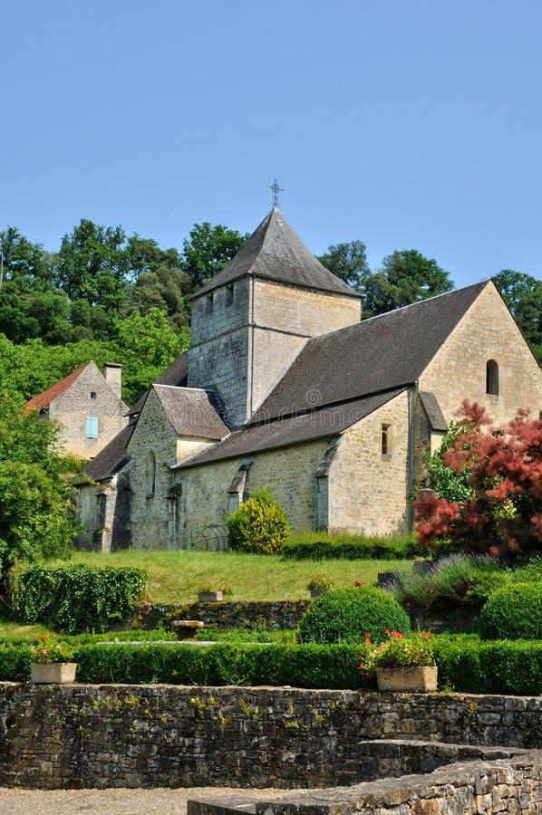 Франция, живописная деревня Sainte Mondane стоковая фотография rf