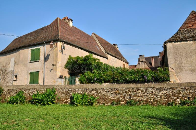 Франция, живописная деревня sur Vezere Леона Святого стоковая фотография rf