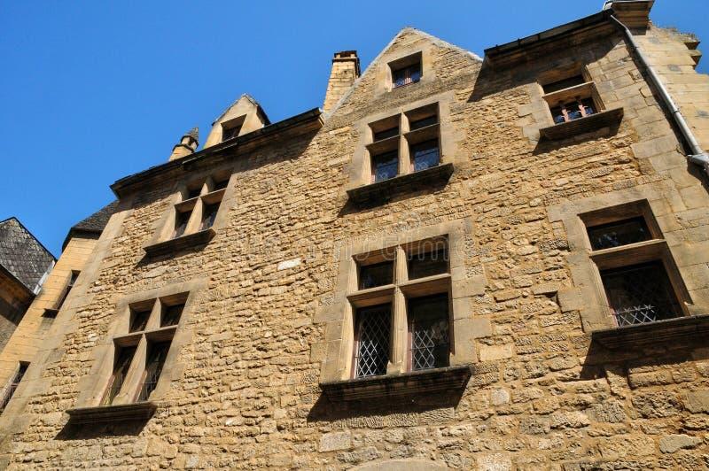 Франция, живописный город Ла Caneda Sarlat в Дордоне стоковая фотография