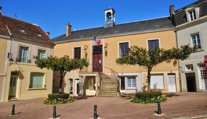 Франция, живописный город Belleme в Normandie стоковые изображения rf