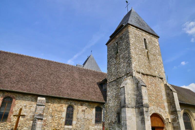 Франция, живописный город Charleval стоковая фотография rf