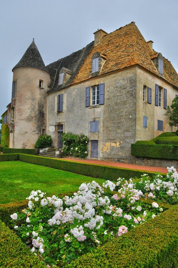 Франция, живописный сад Marqueyssac в Дордоне стоковое изображение rf