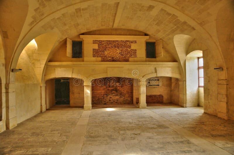 Франция, замок ренессанса Кадиллака стоковые изображения