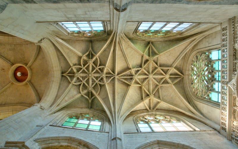 Франция, Святой Protais Gervais Святого коллигативной церков Gisors стоковые изображения rf