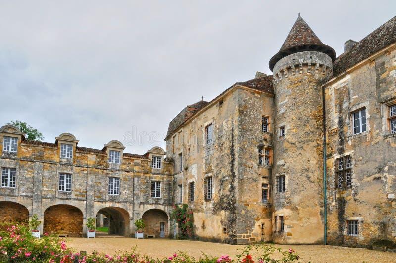 Франция, церковь Roque Gageac Ла в Perigord стоковое изображение