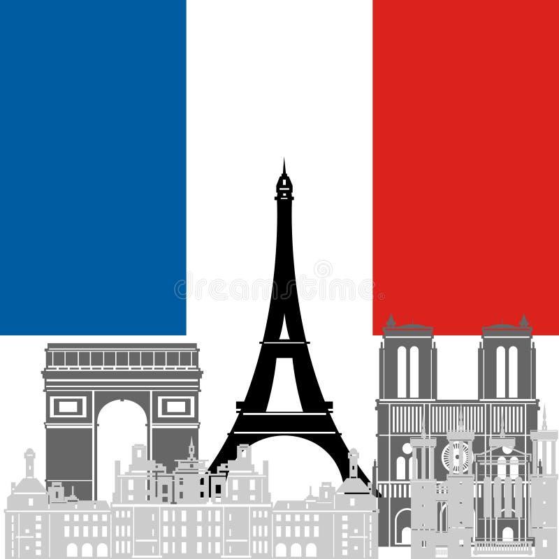 Франция бесплатная иллюстрация