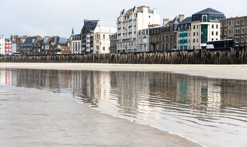 Франция brittani Святой-Malo стоковое фото rf
