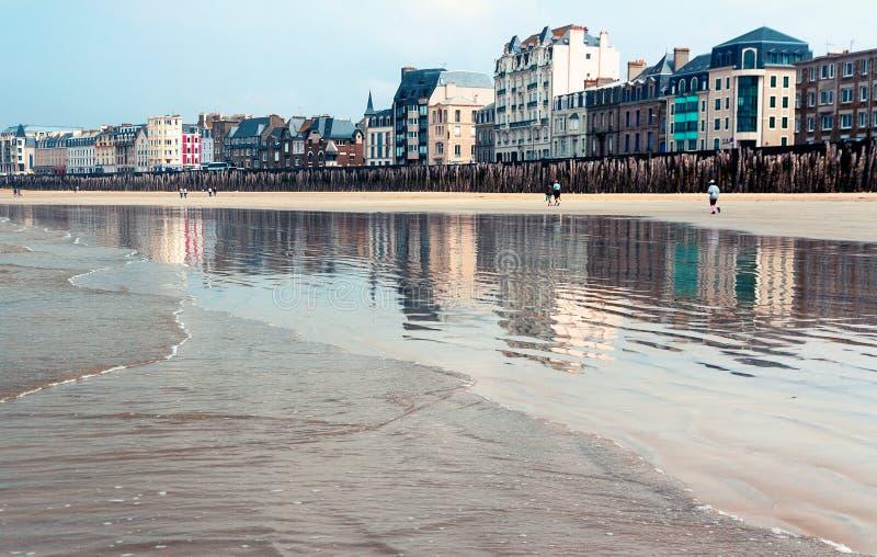 Франция brittani Святой-Malo стоковые фото