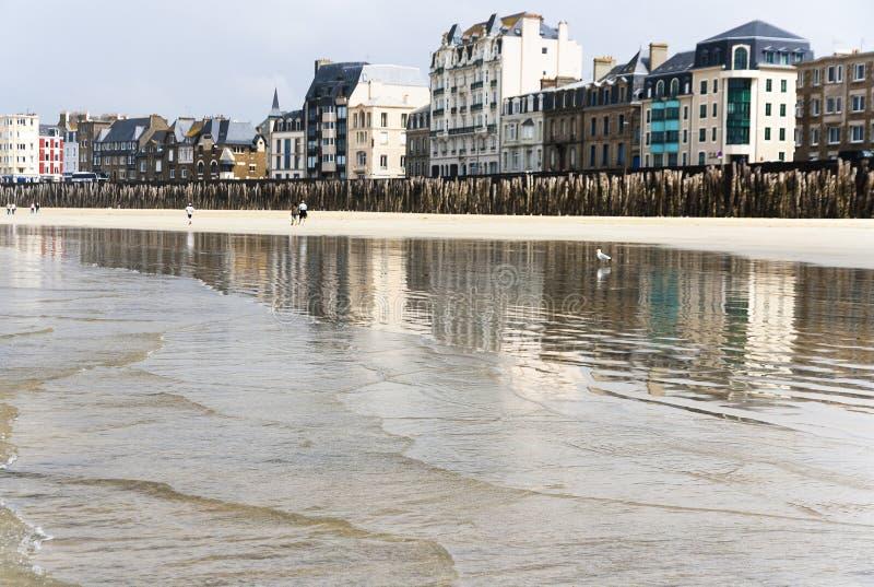 Франция brittani Святой-Malo стоковые фотографии rf