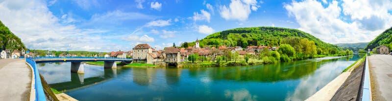Франция, Clerval стоковое фото rf