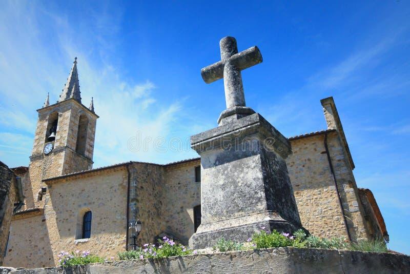 Франция - Cornillon стоковое фото rf